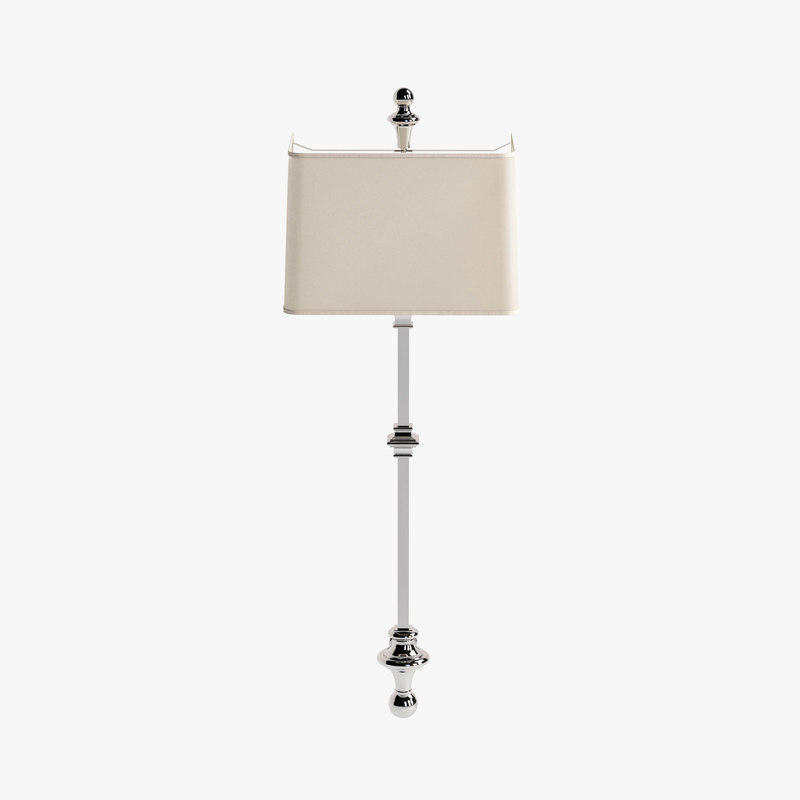 max visual cawdor stanchion wall light