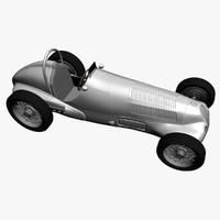 3d max car 1930s