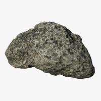 3d rock scan model