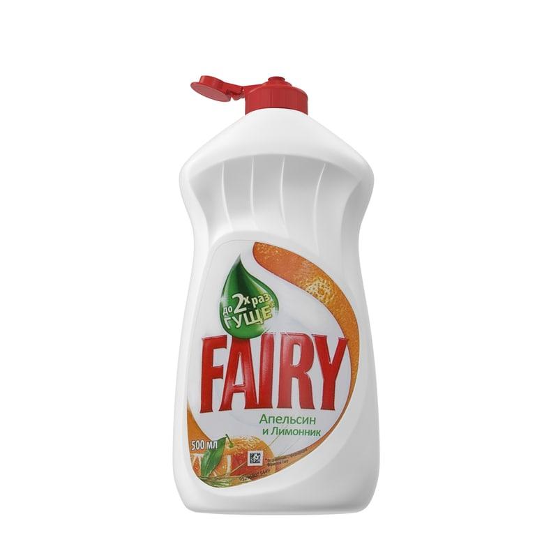 detergent fairy 3d model