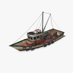 3d ing vessel model
