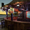 Tiki Bar 3D models