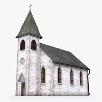 3d old catholic church