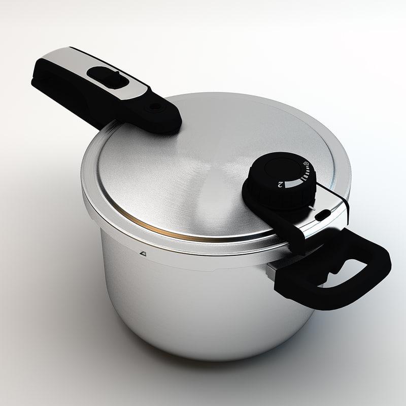 3d pot cook