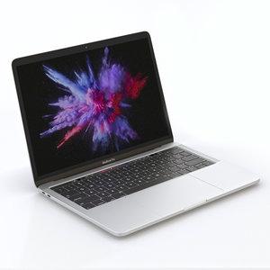 mac macbook pro 3d model