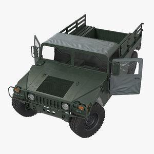 cargo troop carrier hmmwv max