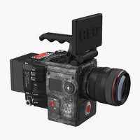 Movie Camera Red Weapon Dragon 6k