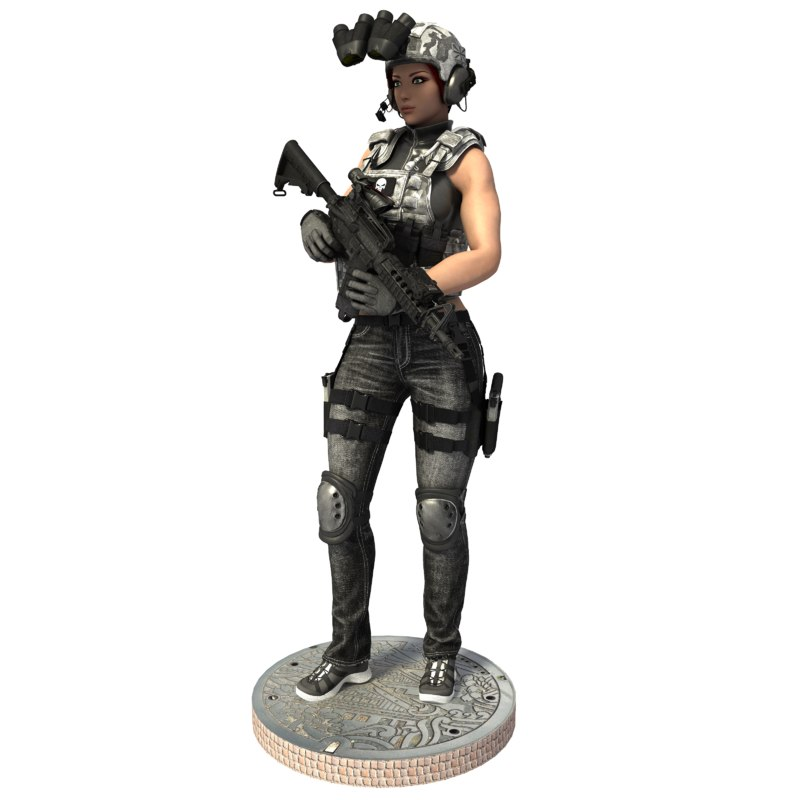 max soldier woman