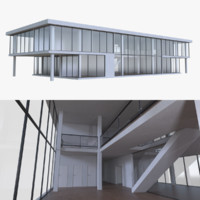 modern office interior buildings blend
