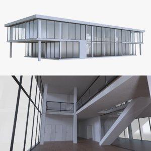modern office interior buildings blend