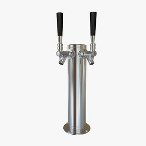 ma double beer tap faucet