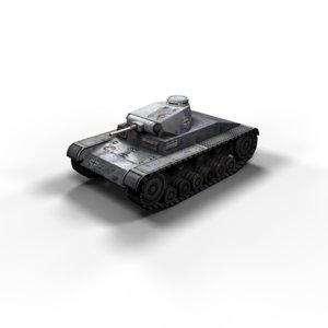 3 panzer ausf tanks max
