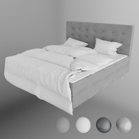 ikea arviksand bed 3d max