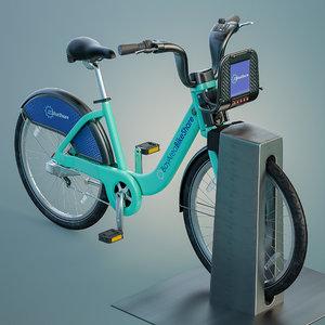 3d bay area bikeshare model