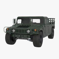 3d cargo troop carrier hmmwv