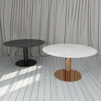 gubi table 2 0 3d model