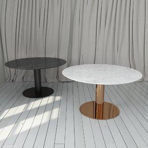 gubi table 2 0 3d model