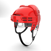 Ice Hockey Helmet Model