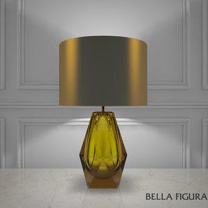 bella figura diamond lamp max