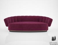 3d brabbu powel sofa model