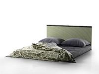 3d model tatami bed
