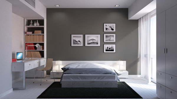 3d bedroom marvelous