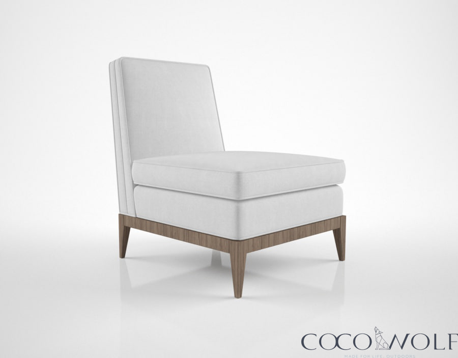 coco wolf taylon chair 3d model