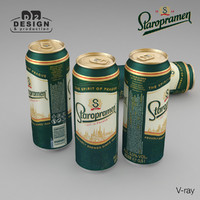 Beer Can Staropramen 500ml