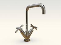 kitchen faucet 3d max