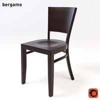 3d bergamo chair model