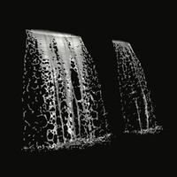 water waterfall 3d model
