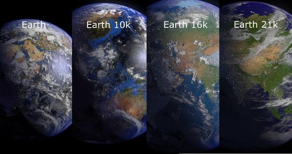 3d model earth 10k blender