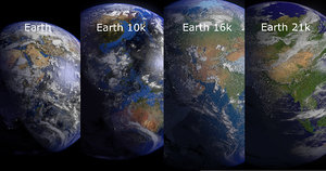 3d model earth 10k blender