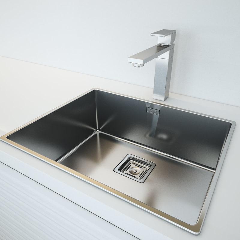 3d kitchen fulgor plano model