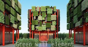 plant epipremnum aureum 3d max