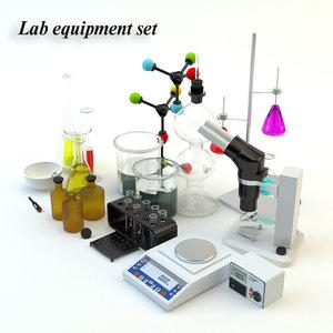 3d max lab equipment set
