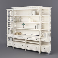 stanley furniture media bookcase max