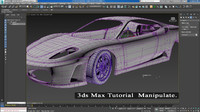 3ds max Manipulate Video Tutorial