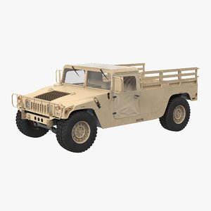 3d military cargo troop carrier