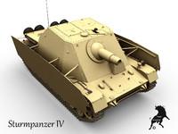 3d sturmpanzer iv