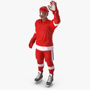 hockey player generic 2 3d max