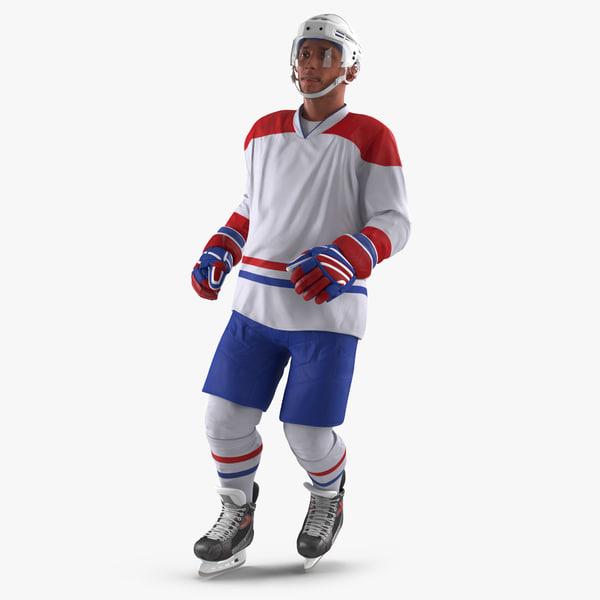 hockey player generic 3 max