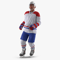 hockey player generic 3 max