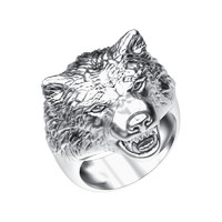jewelry ring wolf 3ds