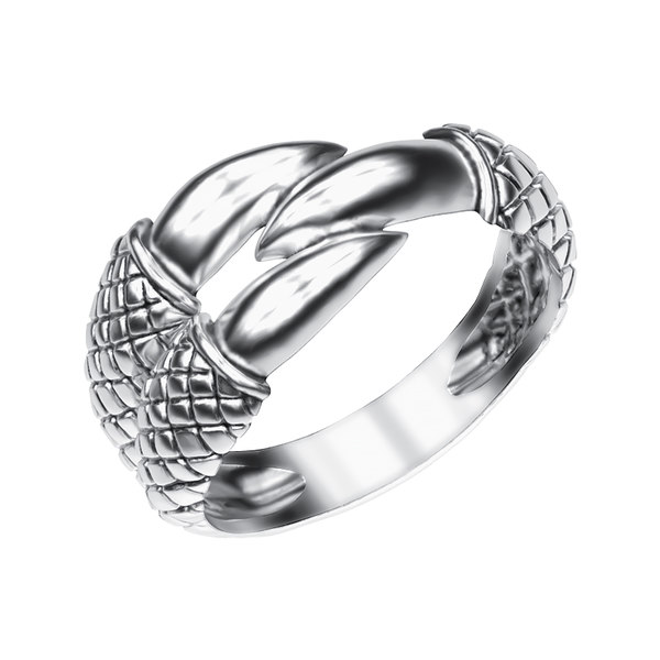 3d jewelry ring claw
