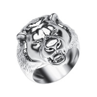 3d model jewelry ring lion