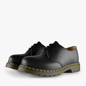 max leather black shoes