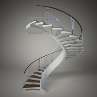 3d model stair