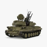 Anti Aircraft Tank ZSU 23 Shilka Rigged