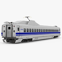 Bullet Train JR700 Passenger Car Japan Railways